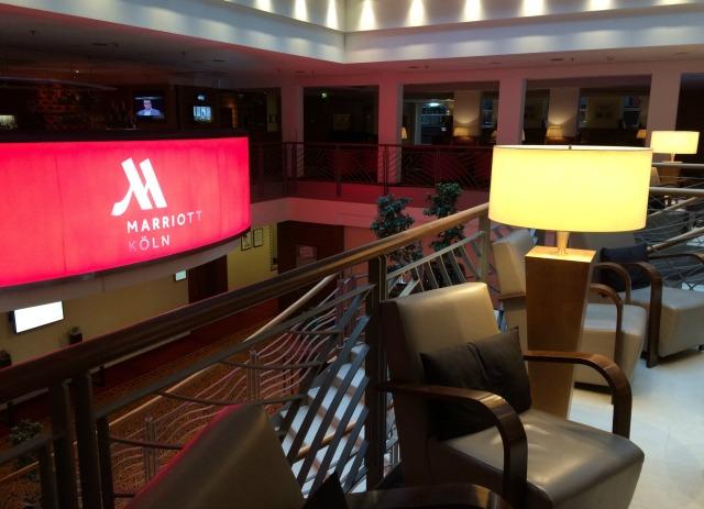 Dica de hospedagem em Colônia: Cologne Marriott Hotel