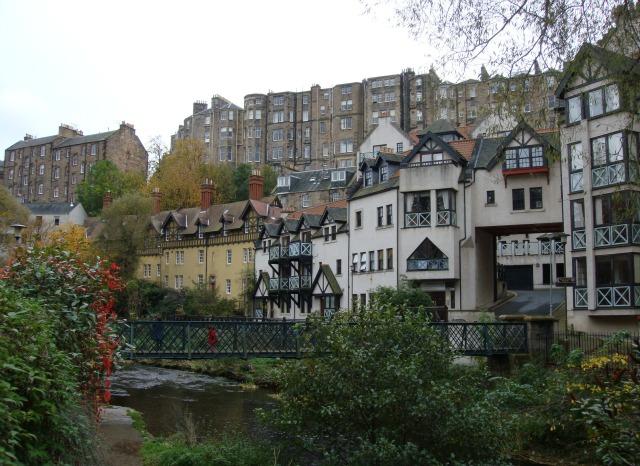 O lado B de Edimburgo: Dean Village