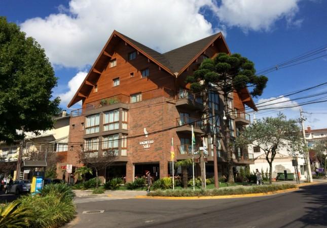 Dica de Hotel em Gramado: Hotel Laghetto Stilo Centro