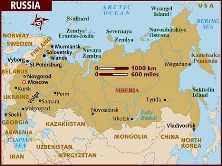 Organizando uma viagem para a Rússia