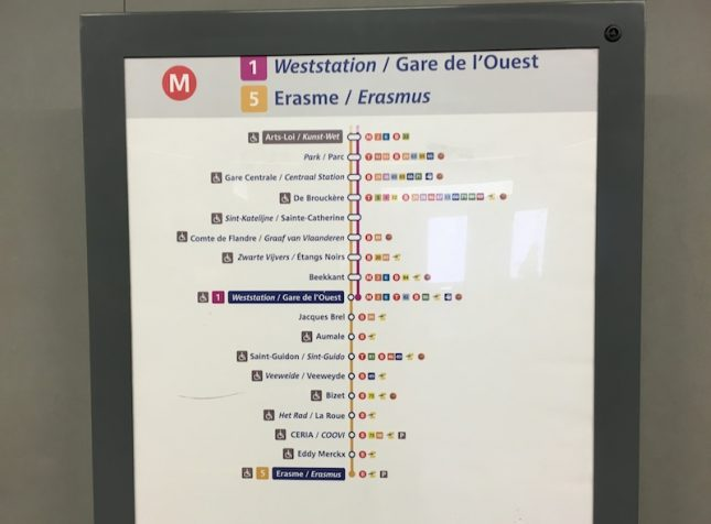 Metro Bruxelas 10