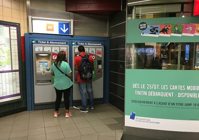 Metro Bruxelas 11