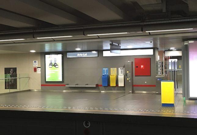 Metro Bruxelas 5