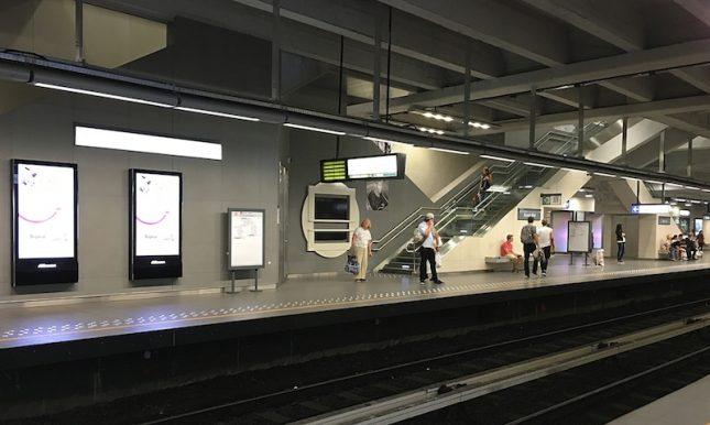 Metro Bruxelas 8