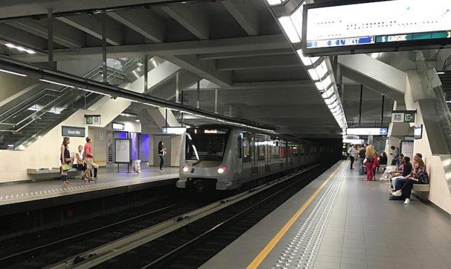 Metro Bruxelas 9