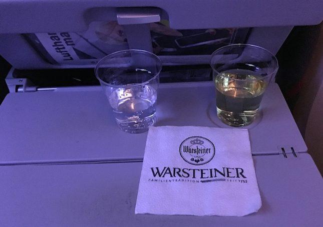 Voando Lufthansa pela primeira vez