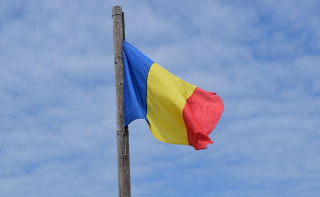 bandeira romenia