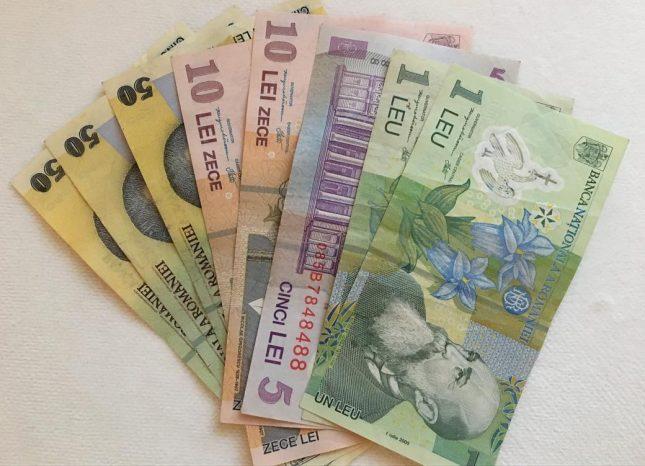 moeda romenia