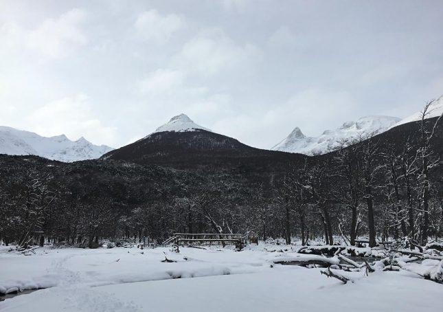 Ushuaia: Trekking até a Geleira Vinciguerra (com direito a ver a Laguna de los Tempanos e uma Caverna de Gelo) no inverno