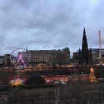 Edimburgo: Mercadinho de Natal no Princes Street Gardens