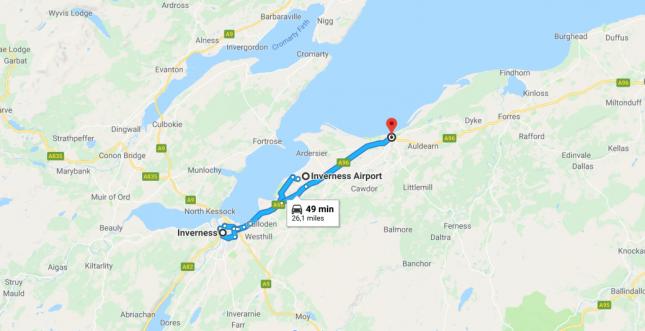 Aeroporto de Inverness