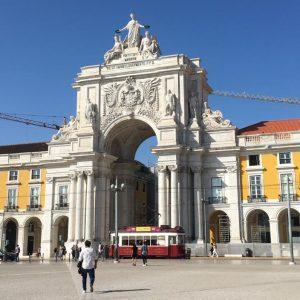 Portugal: Lisboa vista do alto do Arco da Rua Augusta