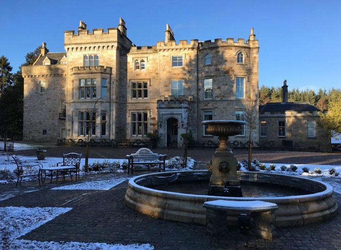 Hospedagem em Blantyre: Crossbasket Castle Hotel (próximo a Glasgow)