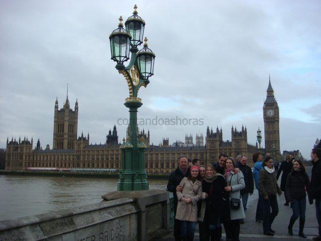 Primeiro dia em Londres