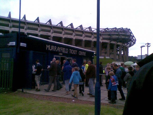 Murrayfield Stadium e Jogo de Rugby – Scotland x Ireland