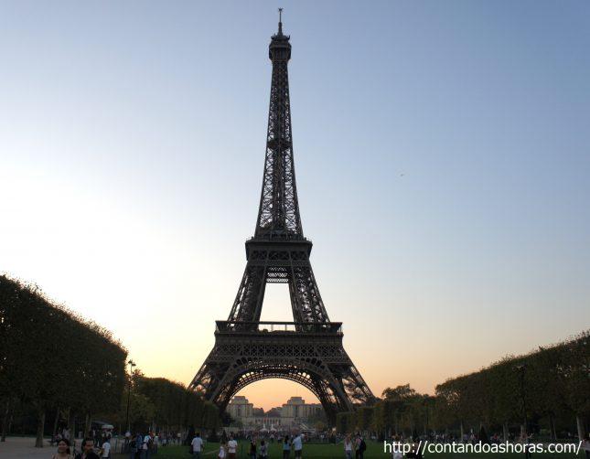 Visita a Torre Eiffel