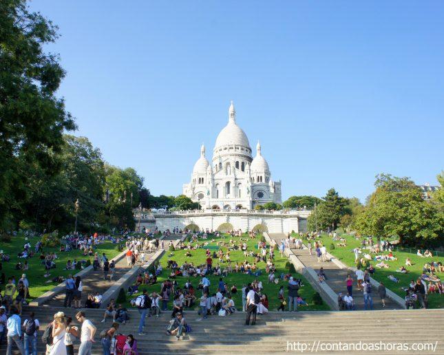 Finalmente.. Montmartre (e um pouco de Amélie Poulain)!!!