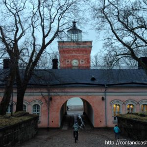 Finlândia: Fortaleza de Suomenlinna