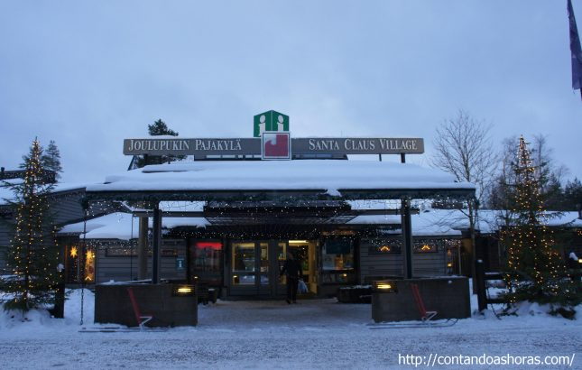 Papai Noel existe, e ele mora na Lapônia!