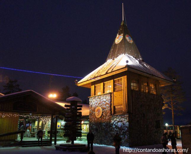 Correio Oficial do Papai Noel, na Lapônia