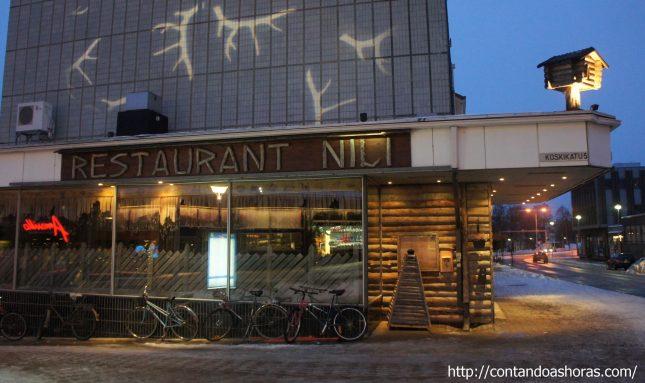 Ravintola Nili, em Rovaniemi
