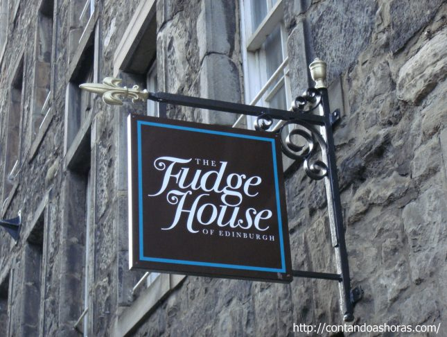 Fudge House, em Edimburgo