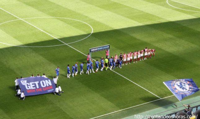 Jogo do Chelsea em Londres