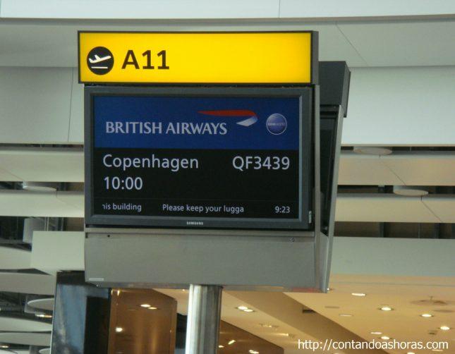 Aeroporto de Copenhagen