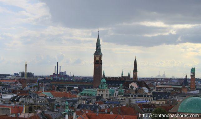 Primeiro dia em Copenhagen