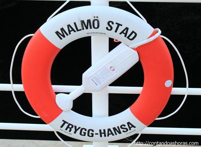 Um fim de tarde em Malmö, na Suécia