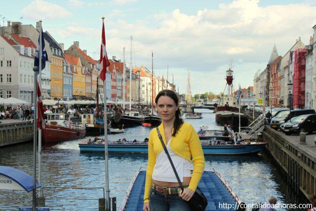 O badalado porto de Nyhavn!