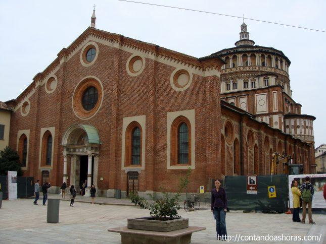 Última Ceia, na Basílica Santa Maria delle Grazie