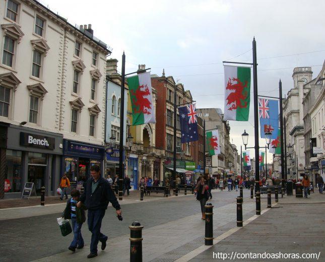 País de Gales: Um final de semana em Cardiff