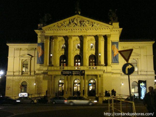 Nabucco, na Opera Estatal de Praga