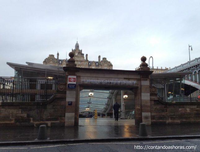 Miniguia para viajar de trem pela Escócia e norte da Inglaterra