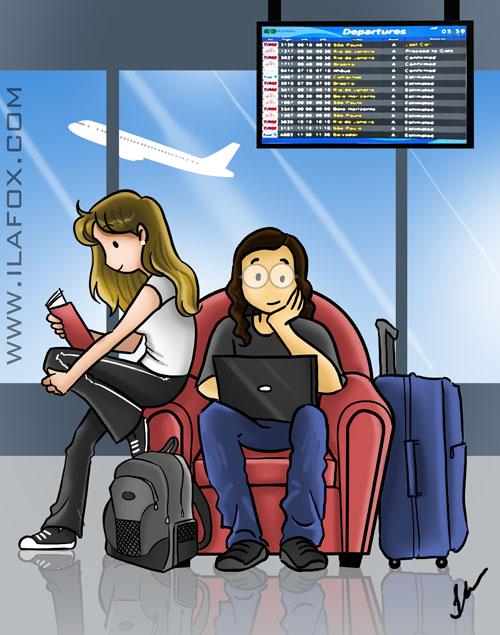 Comprando passagem aérea – diferença entre escala e conexão