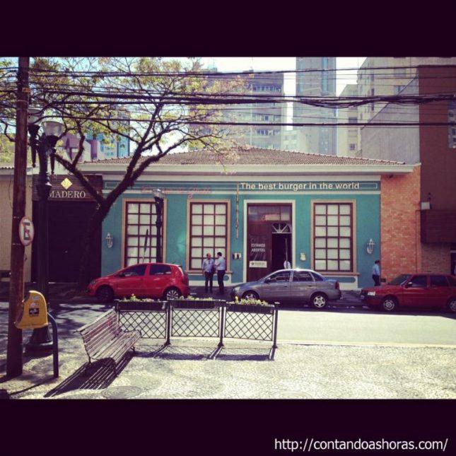 Curitiba: Madero Burger & Grill – Comendador Araújo