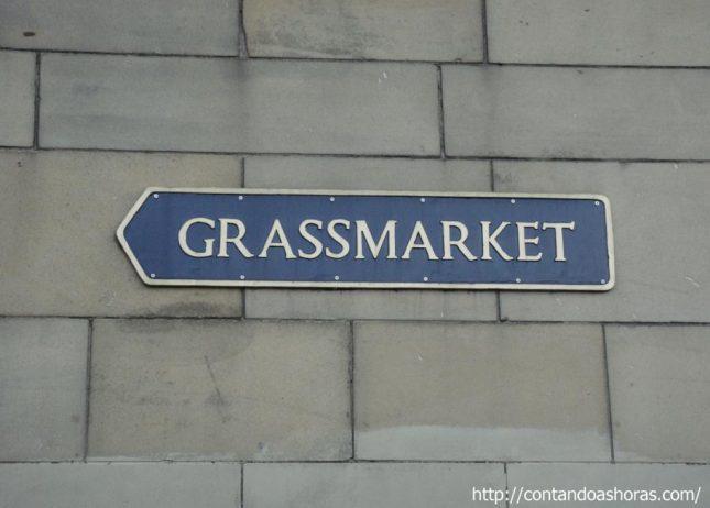 Grassmarket, a Rua dos pubs em Edimburgo