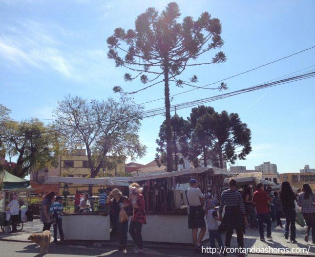 Curitiba: Feirinha do Largo da Ordem