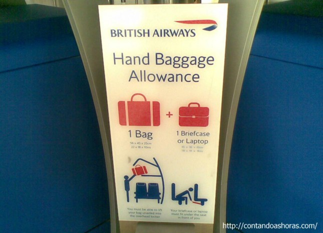 O que podemos levar como bagagem de mão?