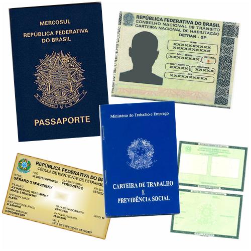 Documentos necessários para embarque nacional e internacional