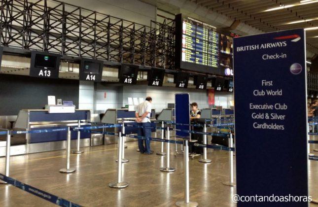 Voando com a classe World Traveller Plus da British Airways