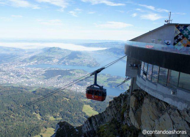 Lucerna: Subindo o Monte Pilatus