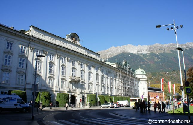 Innsbruck, a capital do Tirol