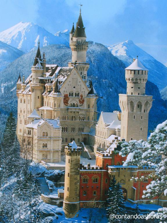 O dia que eu não vi o Castelo de Neuschwanstein