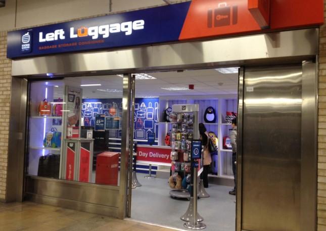 Onde guardar as malas em estações de trem ou aeroportos na Escócia e no UK