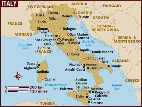 mapa aeroportos italia Contando as Horas » Arquivos » Ciao, Italia! mapa aeroportos italia