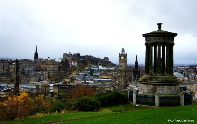 O tempo em Edimburgo (e na Escócia)