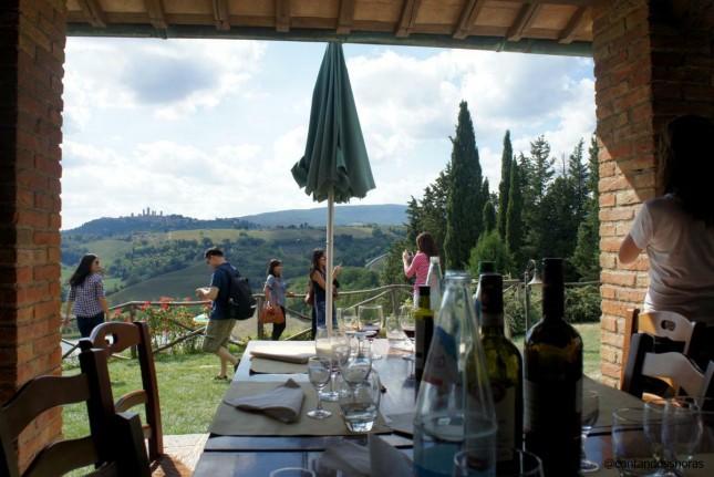 Degustação de vinhos na Toscana: Vernaccia, Chianti e Vino Santo