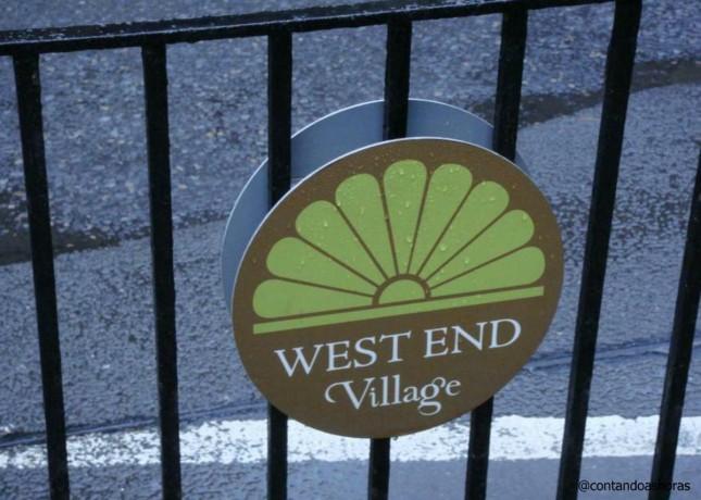O Lado B de Edimburgo: West End e West End Village